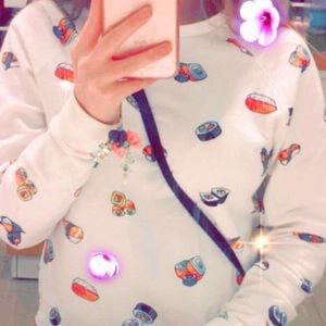 Forever 21 Sushi Sweater